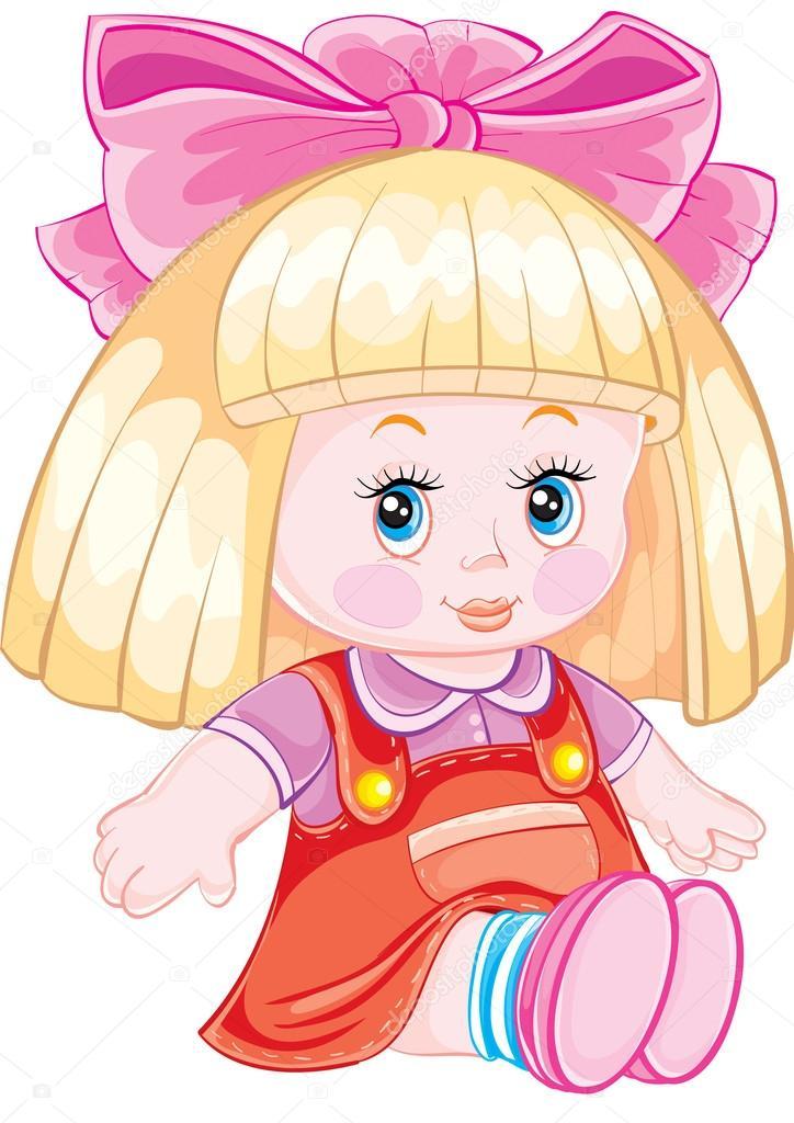 Рисунок кукол для детей